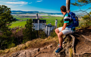 Neuschwanstein with Tom