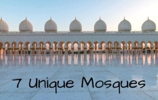 7 unique mosques