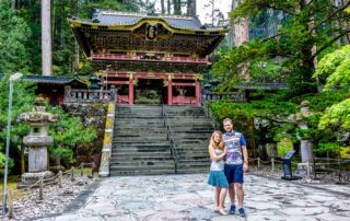 Eva and Tom in Japan
