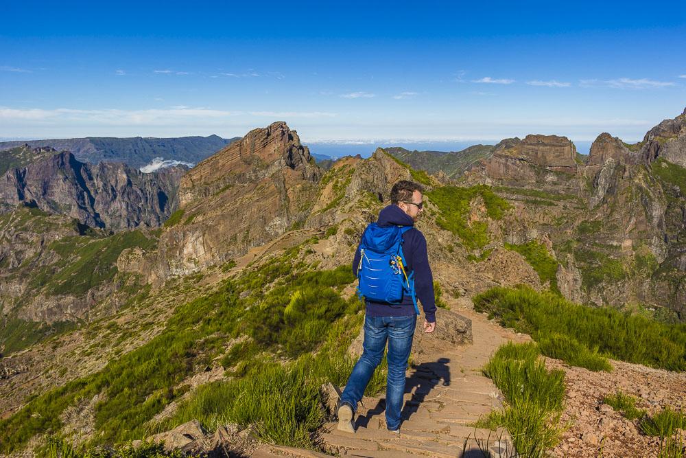 Pico Ruivo - Pico do Arieiro Trail